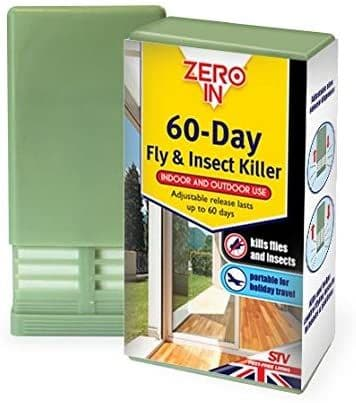 Zero In 60-Day Fly and Insect Killer (Portable Unit, Kills and Repel Bugs, Suitable for Indoor and O