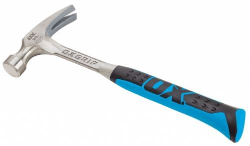 OX Pro Straight Claw Hammer - 20 oz