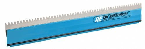 OX Speedskim Stainless Steel Notched Rendering blade only - REBL