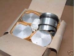 New Set of Pistons with Rings Ford Consul Classic/Capri  Pre Crossflow