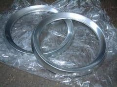 Pair New Ford Cortina Headlamp Bezels Free UK Delivery (conditions apply)