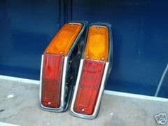 Pair New Genuine Rear Lamps Mk2 Ford Cortina Estate Free UK Delivery (conditions apply)
