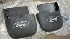 Pair New Genuine Rear Mudflaps Ford Maverick 96-98