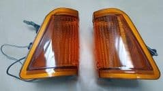 Pair NewGenuine  Indicator Lamps Ford Cortina Mk3 Late type Free UK Delivery