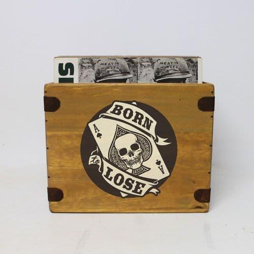 Born To Lose Record Box  12