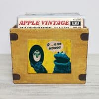 Custom Record Box Full Colour Design Your Own Crate