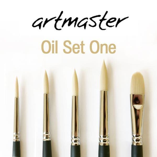 Artmaster Oil Brush Set One