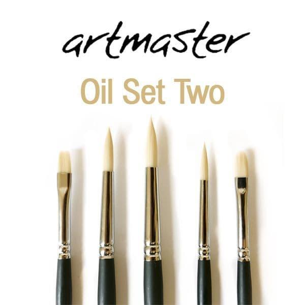 Artmaster Oil Brush Set Two