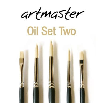 Artmaster Oil Brush Set Two