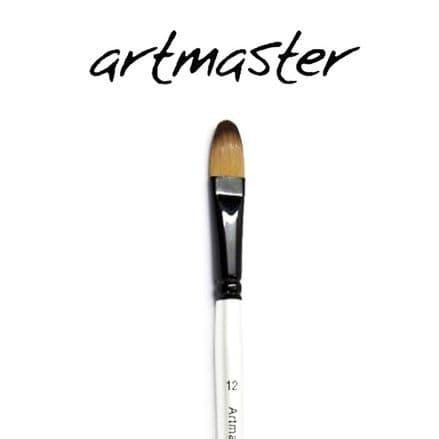 Artmaster Watercolour  Brushes Filbert Pearl Series 44