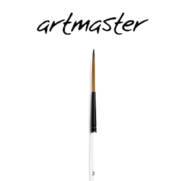 Artmaster Watercolour  Brushes Rigger Pearl Series 55