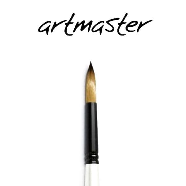 Artmaster Watercolour  Brushes Round Pearl Series 11