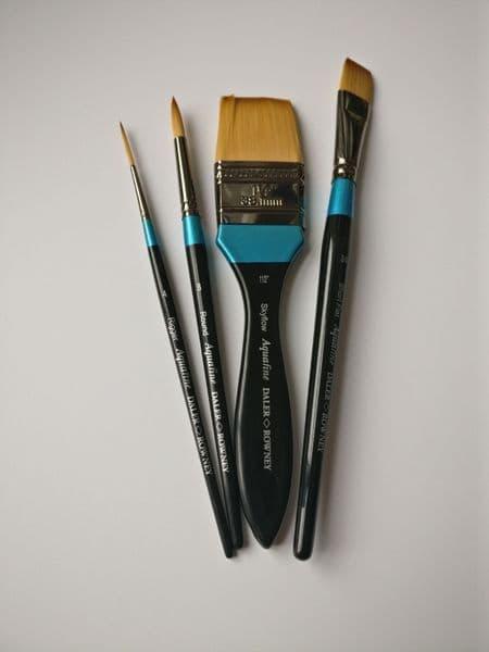 Beginners Aquafine Watercolour Brush Set