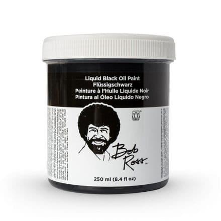 Bob Ross Liquid Base Black 250ml