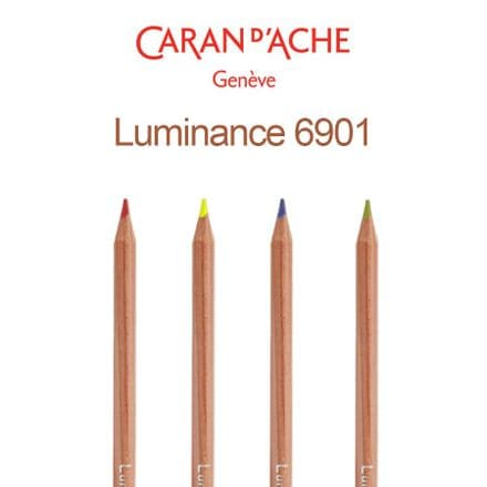 Caran D'Ache Luminance 6901 Pencils