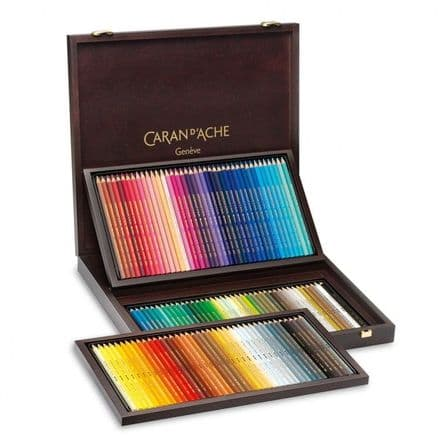 Caran D'ache Supracolour 120 Pencil Wooden Box Set