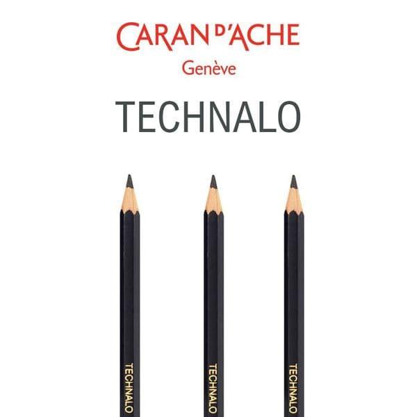 Caran D'Ache Technalo Water Soluble Graphite Pencil