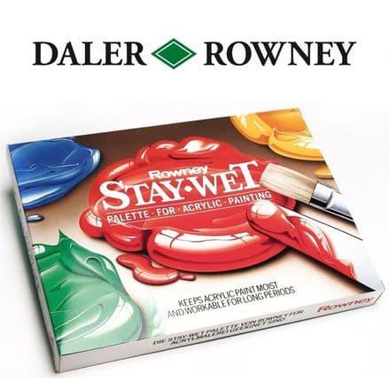 Daler Rowney Acrylic Staywet Palette Small
