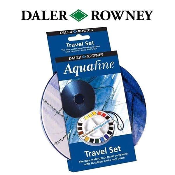 Daler Rowney Aquafine Watercolour Travel Set