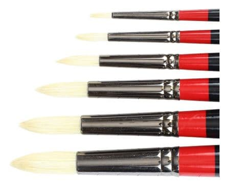 Daler Rowney Georgian Oil Brushes Round