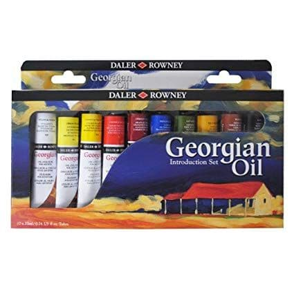 Daler Rowney Georgian Oil Introduction Set