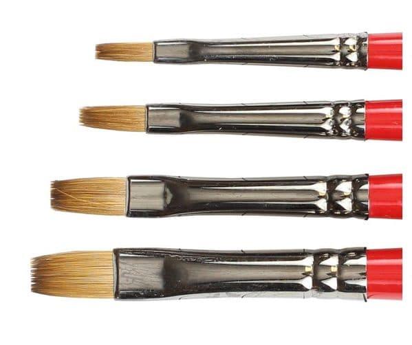 Daler Rowney Georgian Sable Brushes Bright