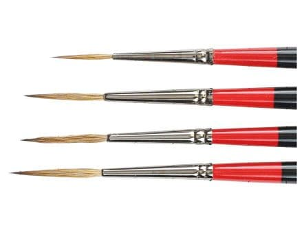 Daler Rowney Georgian Sable Brushes Riggers