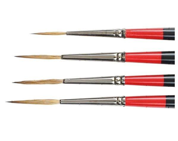 Daler Rowney Georgian Sable Brushes Riggers