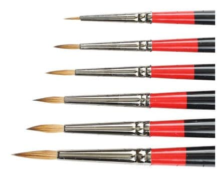 Daler Rowney Georgian Sable Brushes Round