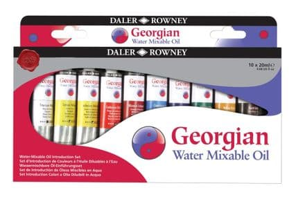 Daler Rowney Georgian Watermixable Oil Set