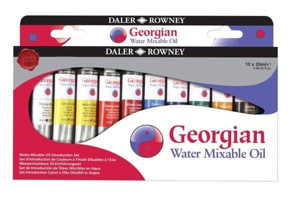 Daler Rowney Georgian Watermixable Oil Set