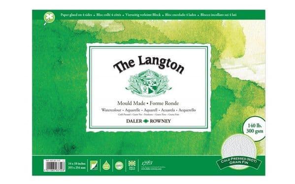 Daler Rowney Langton Watercolour Block 140lb Not