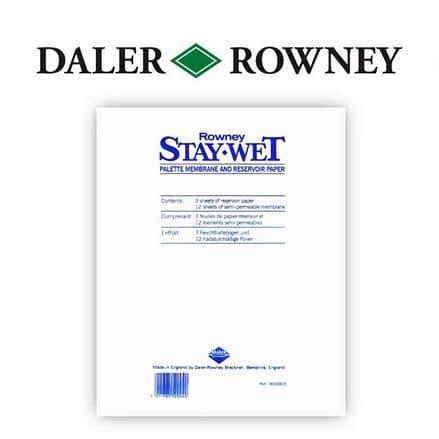 Daler Rowney Staywet Palette Refill Pack
