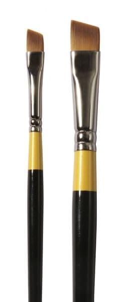 Daler Rowney System 3 Acrylic Brushes Angle Shader SH