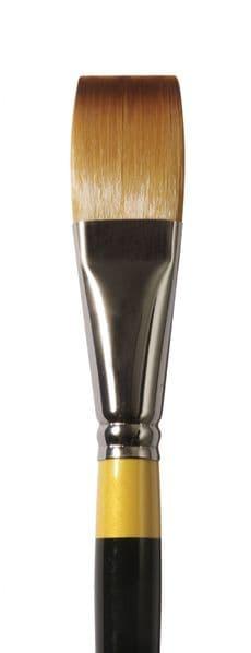 Daler Rowney System 3 Acrylic Brushes Long Flat SH