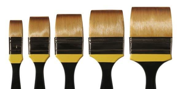Daler Rowney System 3 Acrylic Brushes Skyflow SH