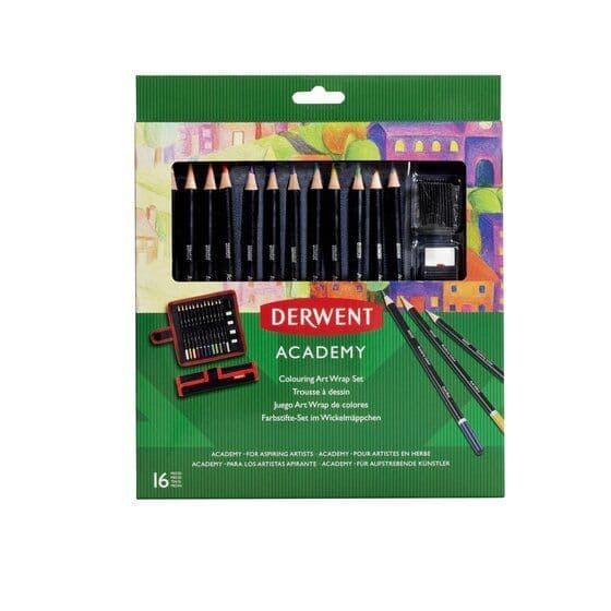 Derwent Academy Colouring  Wrap Set
