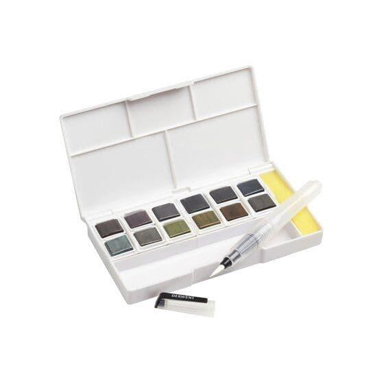 Derwent Graphitint Paint Pan Palette Set