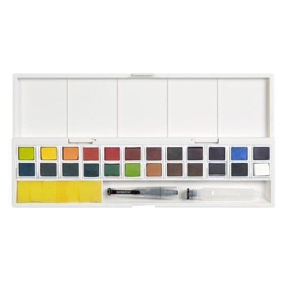 Derwent Inktense Paint Pan 24 set