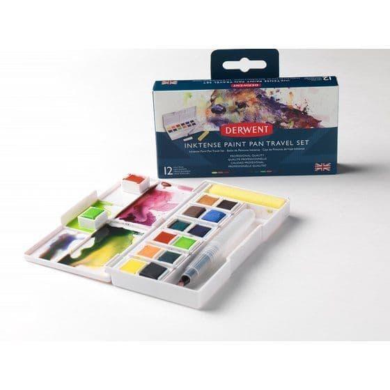 Derwent Inktense Paint Pan Travel Set 1