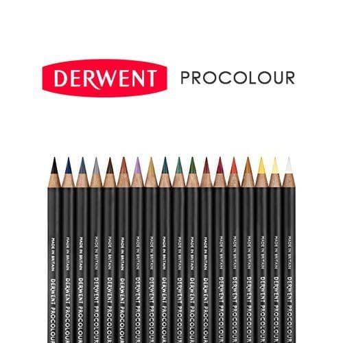 Derwent Procolour Artists' Coloured Pencils