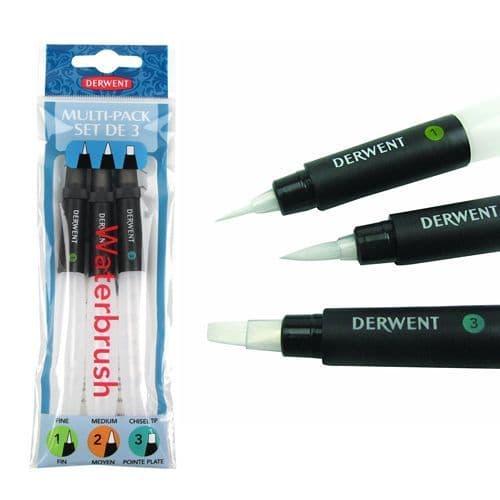 Derwent Waterbrush Multi-Pack