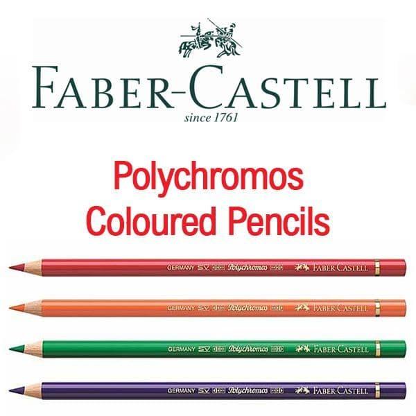 Faber Castell Polychromos Artists Colour Pencils