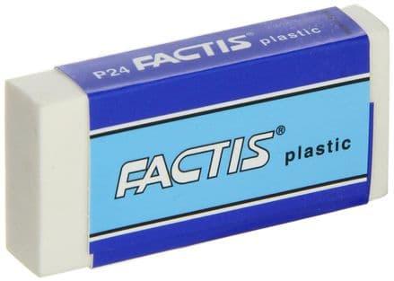 Factis Plastic Eraser