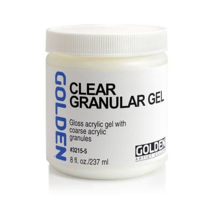 Golden Acrylic Clear Granular Gel Medium 237ml