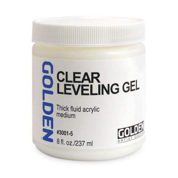 Golden Acrylic  Clear Levelling Gel Medium 237ml