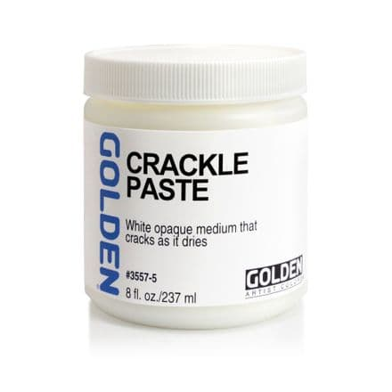 Golden Acrylic Crackle Paste 237ml