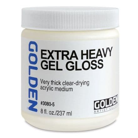 Golden Acrylic Extra Heavy Gel Gloss Medium 237ml