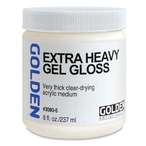 Golden Acrylic Extra Heavy Gel Gloss Medium 237ml