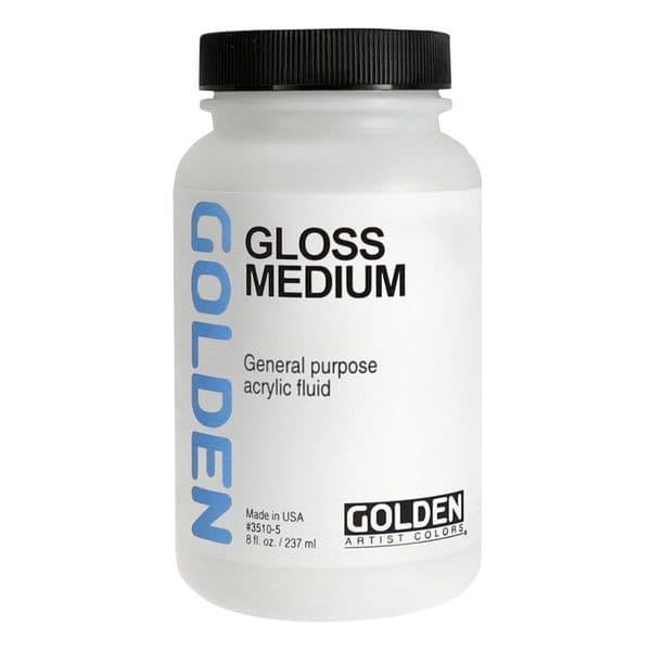 Golden Acrylic Gloss Medium 237ml